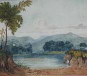 Original Watercolour – Lt Janvarin Grassie R.N. – New South Wales – 1876