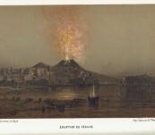 Les Volcans et les Tremblements de Terre – Arnold Boscowitz – First Edition 1866
