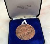 James Cook Bicentennial Medal (1970) by Andor Meszaros