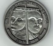 Bass and Flinders – Circumnavigation of Tasmania – 200th Anniversary Medal