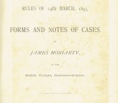 Arbitration Act , 1892 – Forms and Notes of Cases – James Moriarty – First 1893