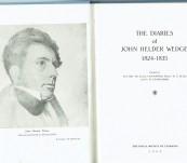 The Diaries of John Helder Wedge 1824-1835 [in Tasmania]