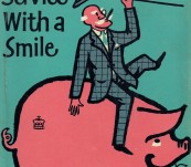Service with a Smile – P.G. Wodehouse – First Edition