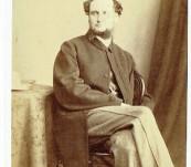 Fine Carte de Visite – Adventure Author and Secretary to the Marine Society – Samuel Whitchurch Sadler – William Trindall Pembroke Dock. 1860's.