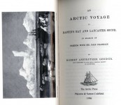 An Arctic Voyage to Baffin's Bay and Lancaster Sound in Search of Friends with Sir John Franklin – Robert Anstruther Goodsir  (Late President of the Royal Medical Society).